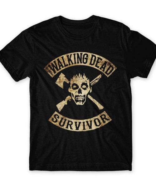 The Walking Dead Survior Póló - Ha The Walking Dead rajongó ezeket a pólókat tuti imádni fogod!
