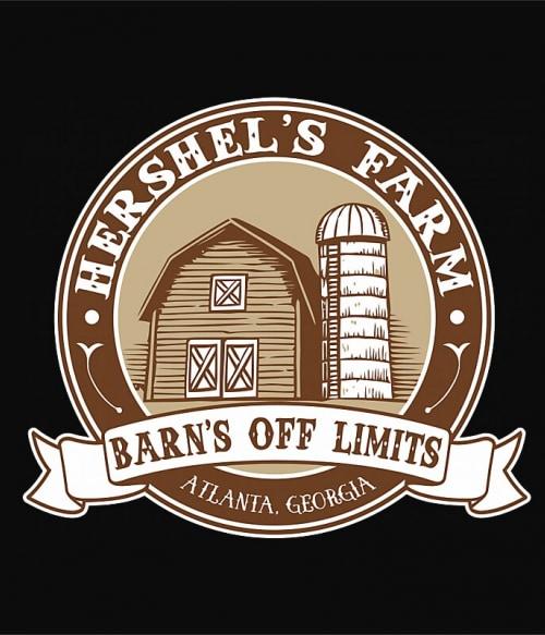 Hershels Farm Logo Póló - Ha The Walking Dead rajongó ezeket a pólókat tuti imádni fogod!