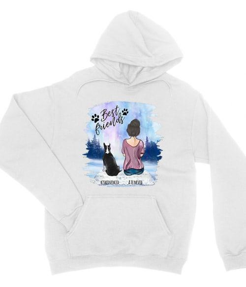 Kiskedvenccel a téli tájon - Női alak - MyLife