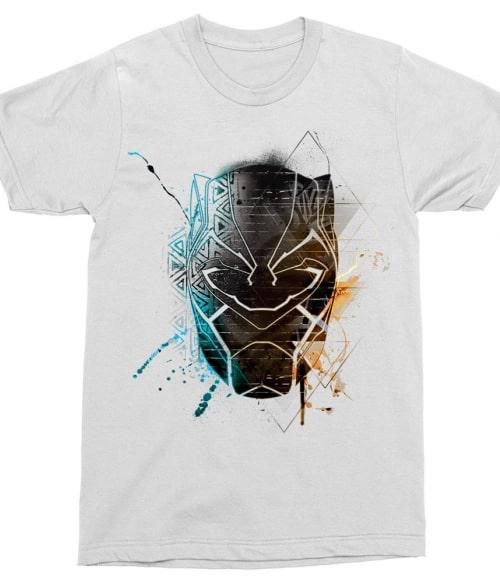 Panther grunge head Póló - Ha Black Panther rajongó ezeket a pólókat tuti imádni fogod!