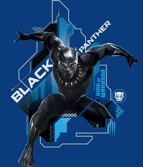 King of Wakanda Póló - Ha Black Panther rajongó ezeket a pólókat tuti imádni fogod!
