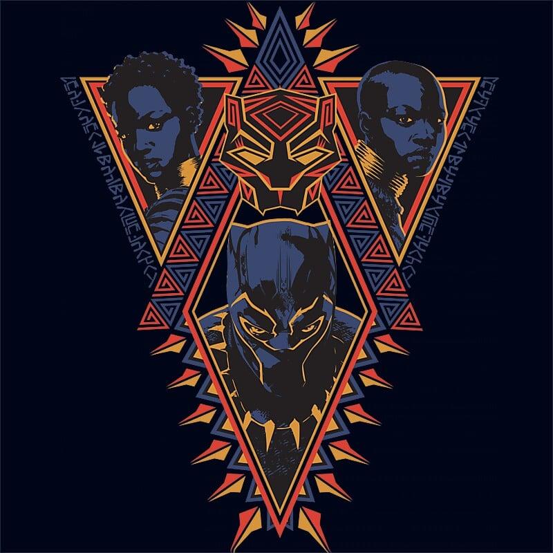 Black Panther tribal Póló - Ha Black Panther rajongó ezeket a pólókat tuti imádni fogod!