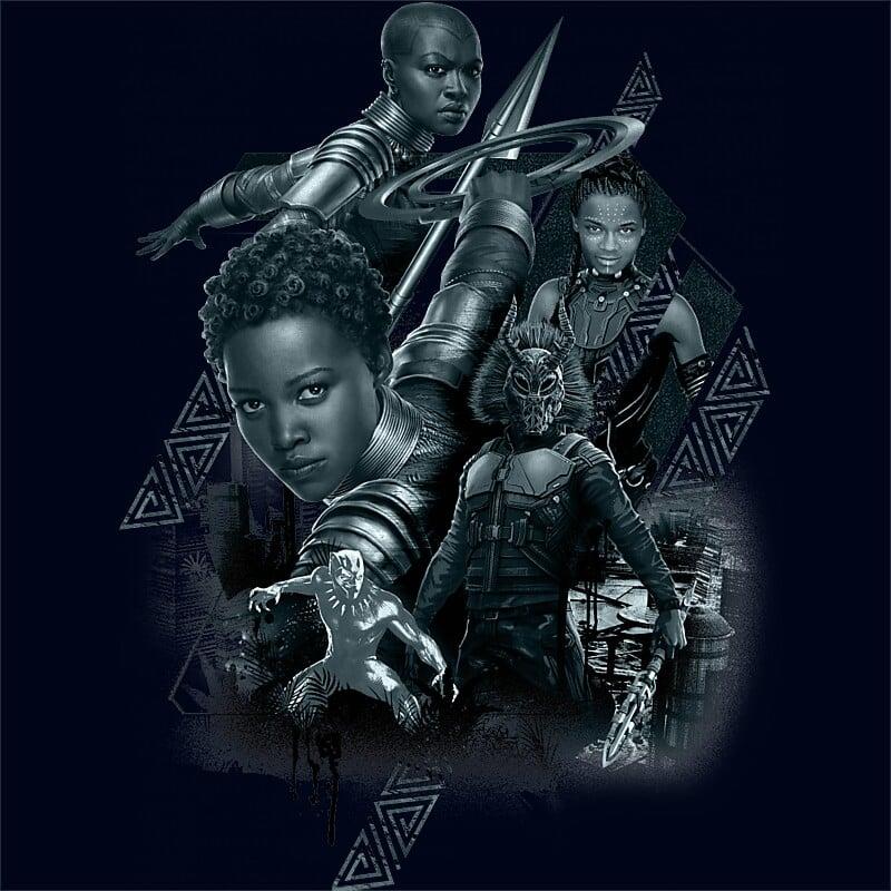Black Panther team Póló - Ha Black Panther rajongó ezeket a pólókat tuti imádni fogod!