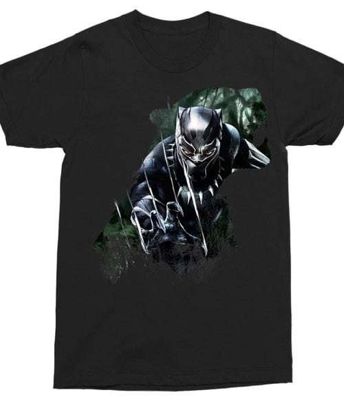 Black Panther Silhouette Póló - Ha Black Panther rajongó ezeket a pólókat tuti imádni fogod!
