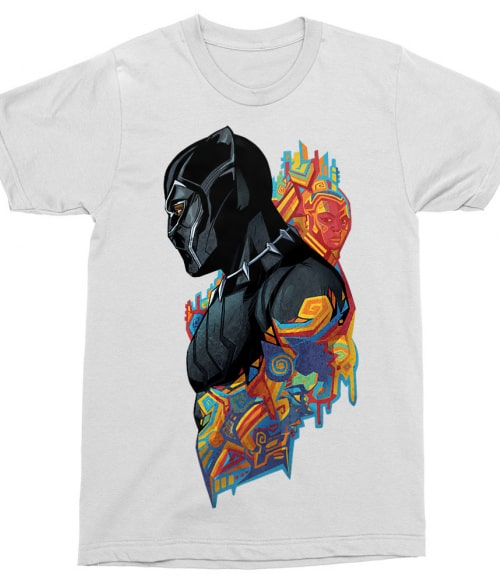 Black Panther Colors Póló - Ha Black Panther rajongó ezeket a pólókat tuti imádni fogod!