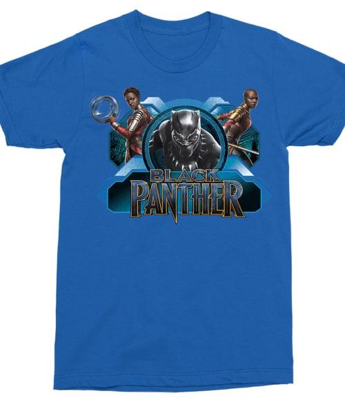 Black Panther Badge Póló - Ha Black Panther rajongó ezeket a pólókat tuti imádni fogod!