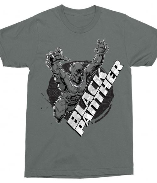 Black Panther Jump Póló - Ha Black Panther rajongó ezeket a pólókat tuti imádni fogod!