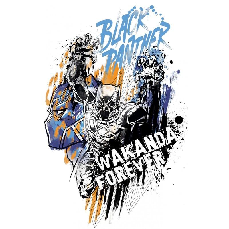 Black Panther Comics Póló - Ha Black Panther rajongó ezeket a pólókat tuti imádni fogod!