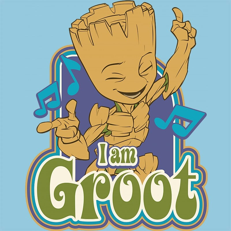 Dancing Groot Póló - Ha Guardians of the Galaxy rajongó ezeket a pólókat tuti imádni fogod!