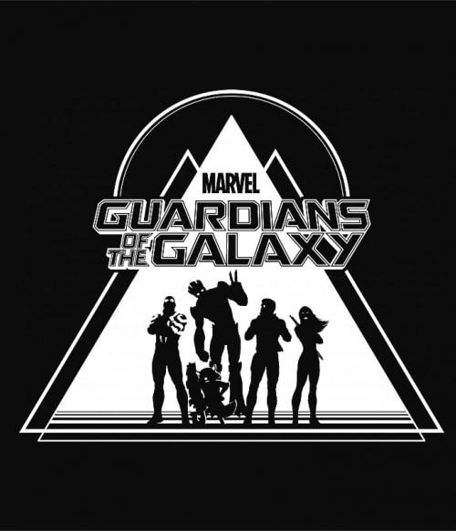 Guardians triangle Póló - Ha Guardians of the Galaxy rajongó ezeket a pólókat tuti imádni fogod!