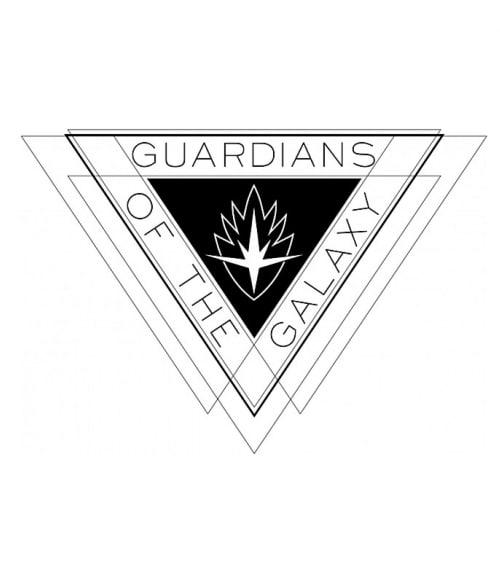 Guardians triangle logo Póló - Ha Guardians of the Galaxy rajongó ezeket a pólókat tuti imádni fogod!