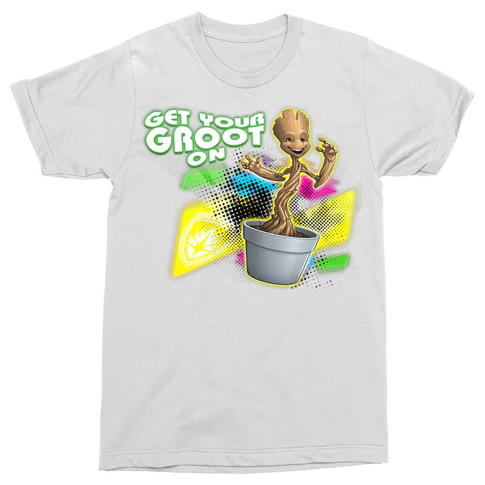 Neon Groot Póló - Ha Guardians of the Galaxy rajongó ezeket a pólókat tuti imádni fogod!