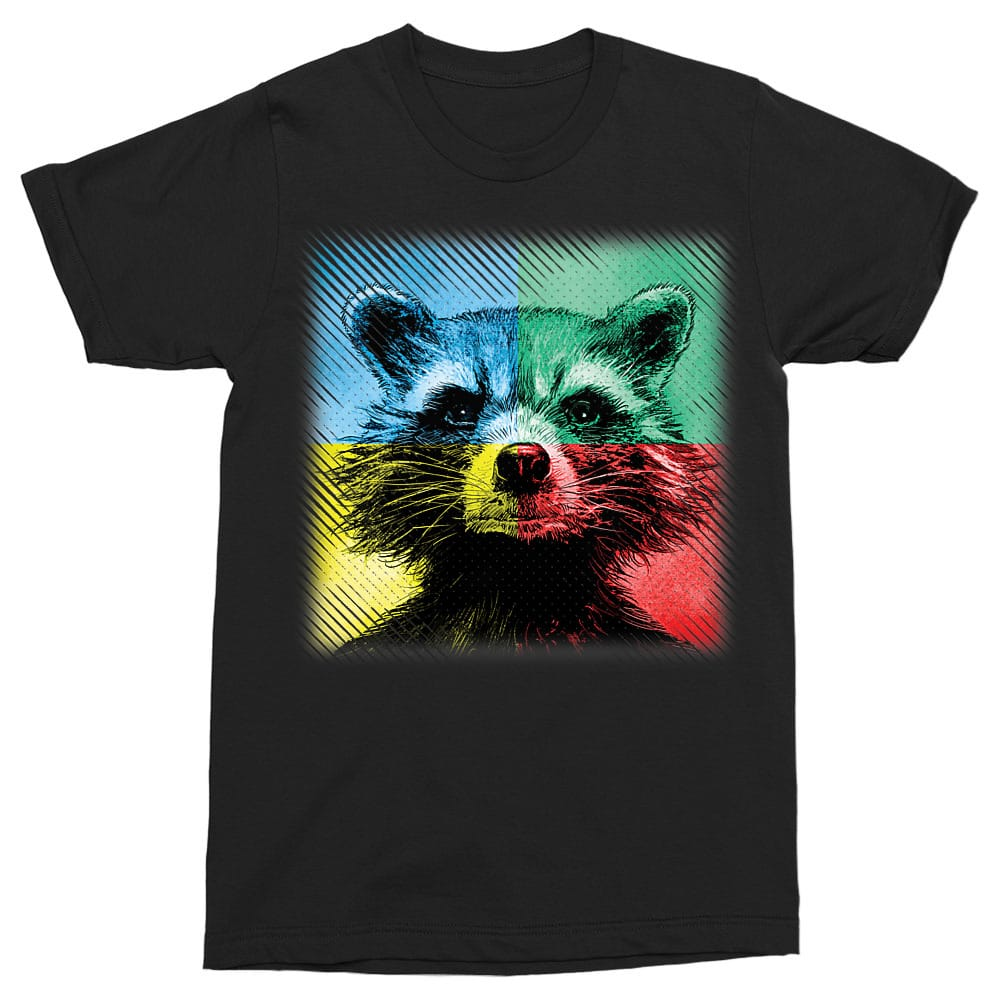 Rocket Colors Póló - Ha Guardians of the Galaxy rajongó ezeket a pólókat tuti imádni fogod!