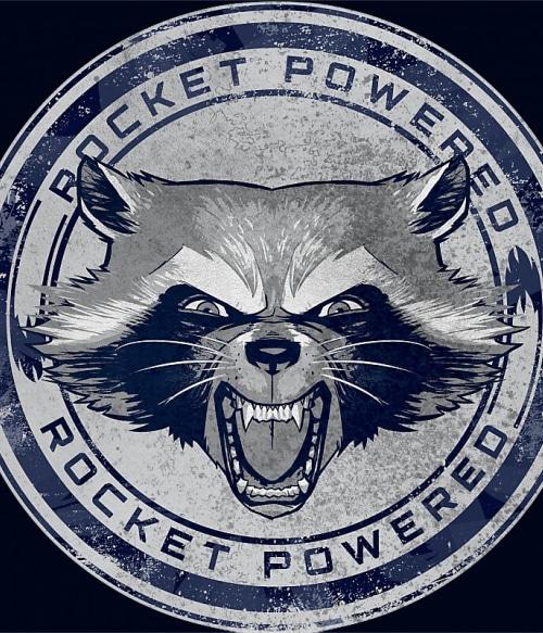 Rocket Powered Póló - Ha Guardians of the Galaxy rajongó ezeket a pólókat tuti imádni fogod!