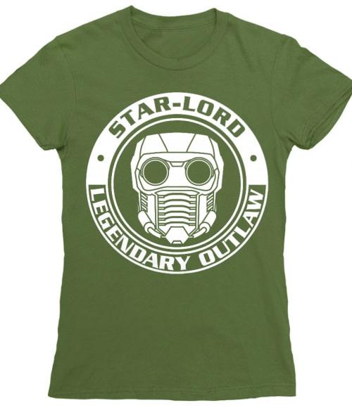 Star Lord logo Póló - Ha Guardians of the Galaxy rajongó ezeket a pólókat tuti imádni fogod!