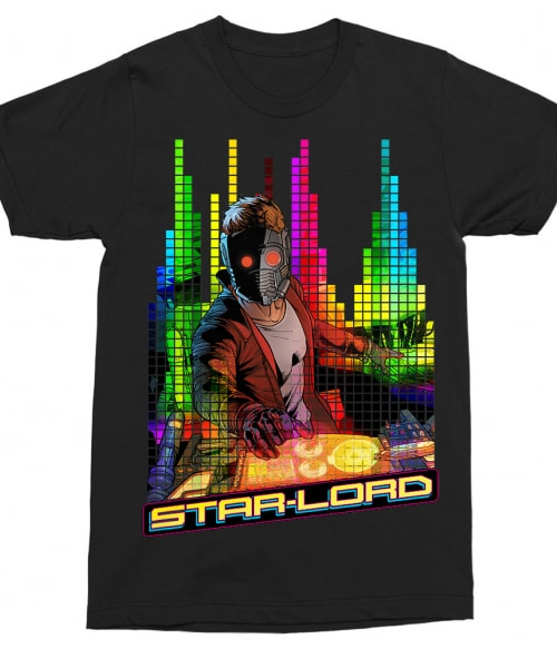 Star Lord music Póló - Ha Guardians of the Galaxy rajongó ezeket a pólókat tuti imádni fogod!