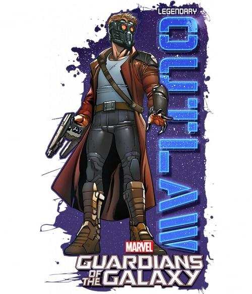 Star Lord outlaw Póló - Ha Guardians of the Galaxy rajongó ezeket a pólókat tuti imádni fogod!