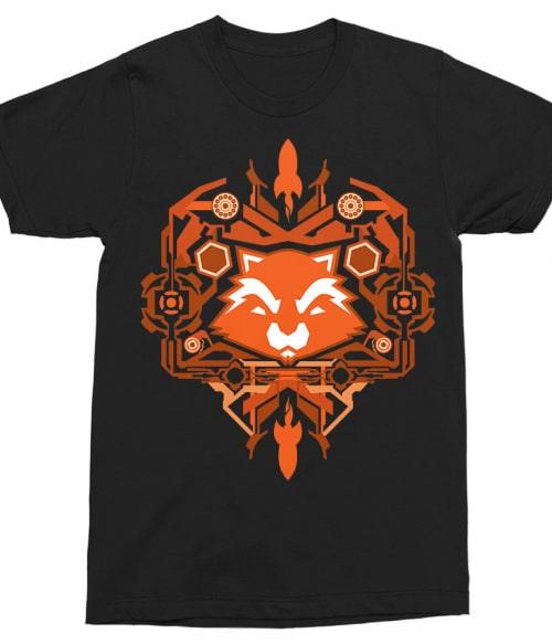 Tribal Rocket Póló - Ha Guardians of the Galaxy rajongó ezeket a pólókat tuti imádni fogod!