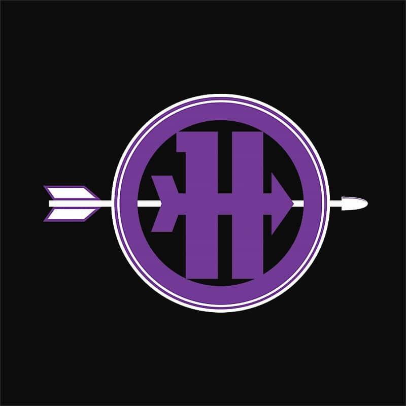 Hawkeye arrow logo Póló - Ha Hawkeye rajongó ezeket a pólókat tuti imádni fogod!