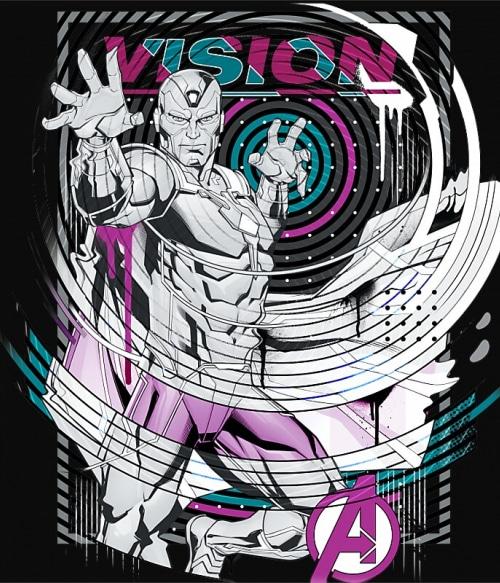 Vision Póló - Ha Avengers rajongó ezeket a pólókat tuti imádni fogod!
