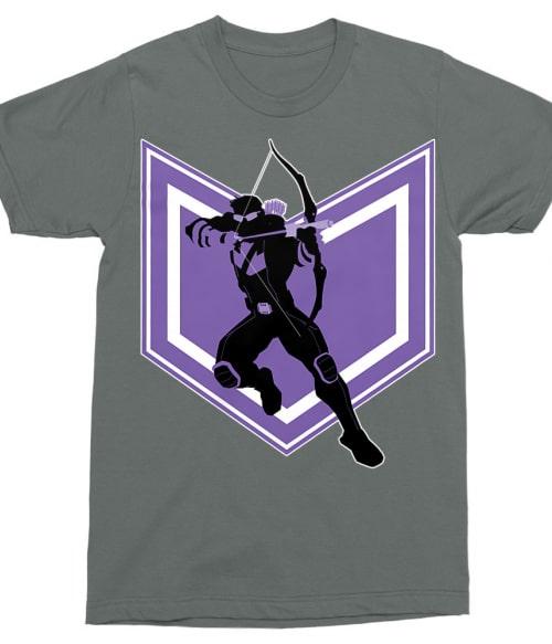 Hawkeye silhouette Póló - Ha Hawkeye rajongó ezeket a pólókat tuti imádni fogod!