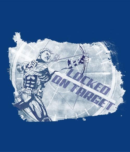 Hawkeye splash Póló - Ha Hawkeye rajongó ezeket a pólókat tuti imádni fogod!