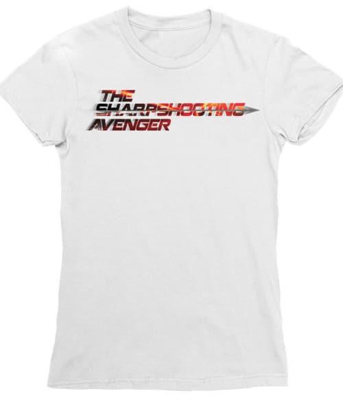The sharpshooting avanger Póló - Ha Hawkeye rajongó ezeket a pólókat tuti imádni fogod!
