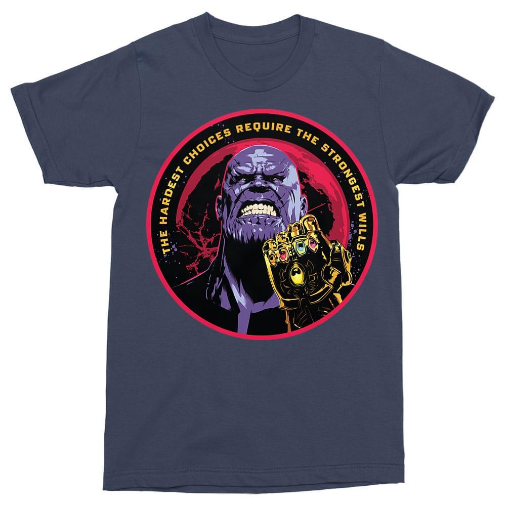 Strongest wills Póló - Ha Thanos rajongó ezeket a pólókat tuti imádni fogod!