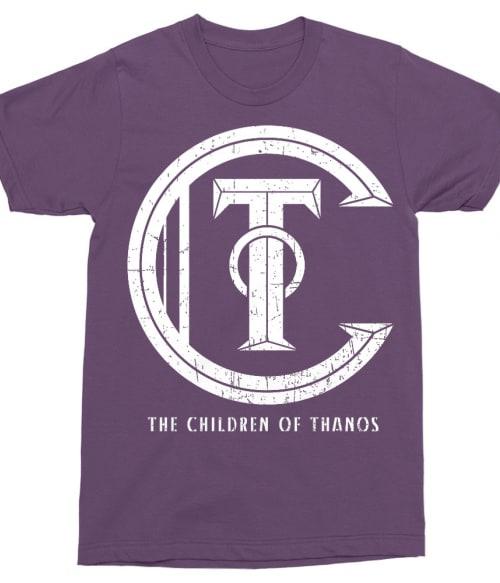 The children of thanos Póló - Ha Thanos rajongó ezeket a pólókat tuti imádni fogod!