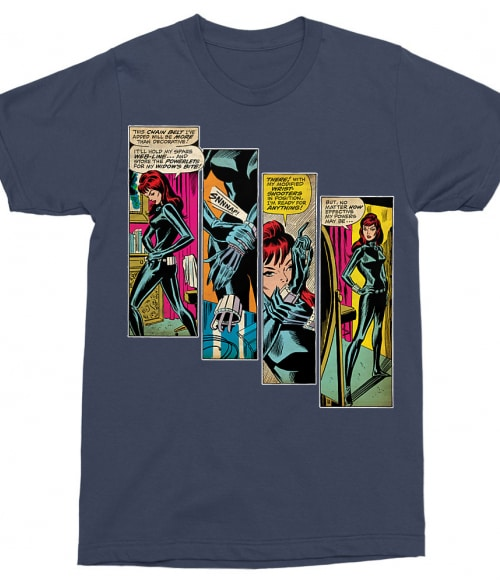 Black Widow Comics Póló - Ha Black Widow rajongó ezeket a pólókat tuti imádni fogod!