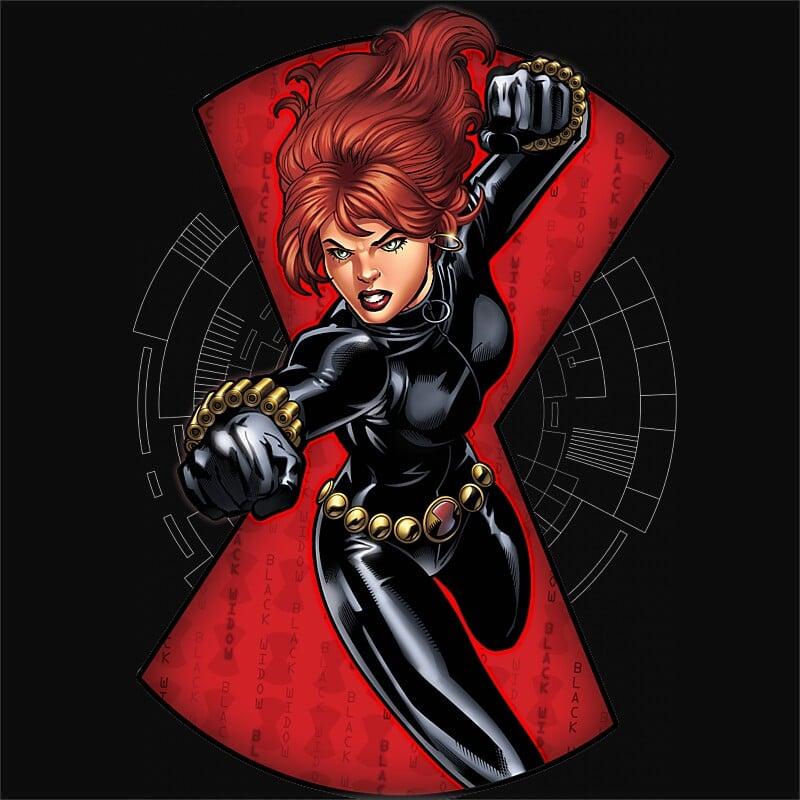 Black Widow Fight Póló - Ha Black Widow rajongó ezeket a pólókat tuti imádni fogod!