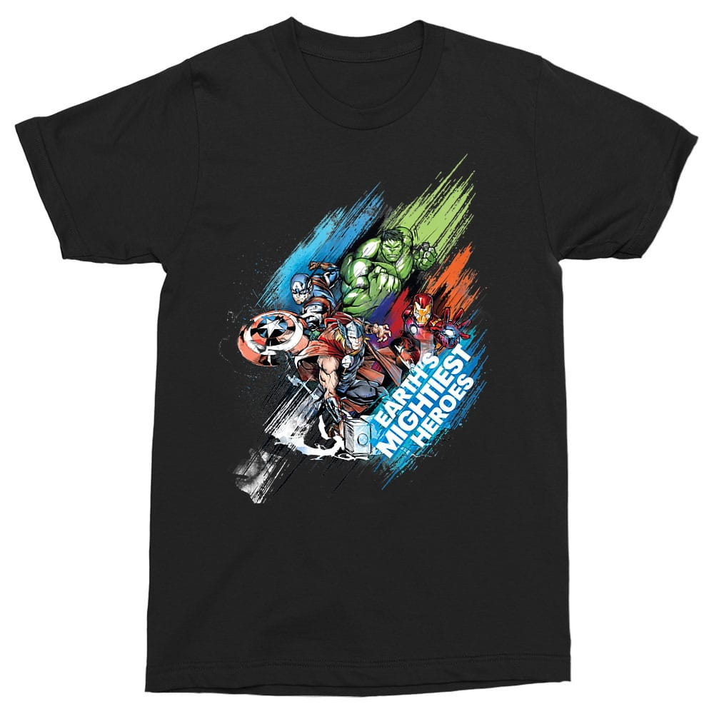 Earth's Mightiest Heroes Póló - Ha Avengers rajongó ezeket a pólókat tuti imádni fogod!