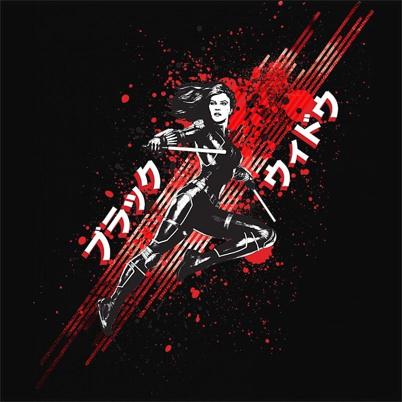 Black Widow Paint Póló - Ha Black Widow rajongó ezeket a pólókat tuti imádni fogod!