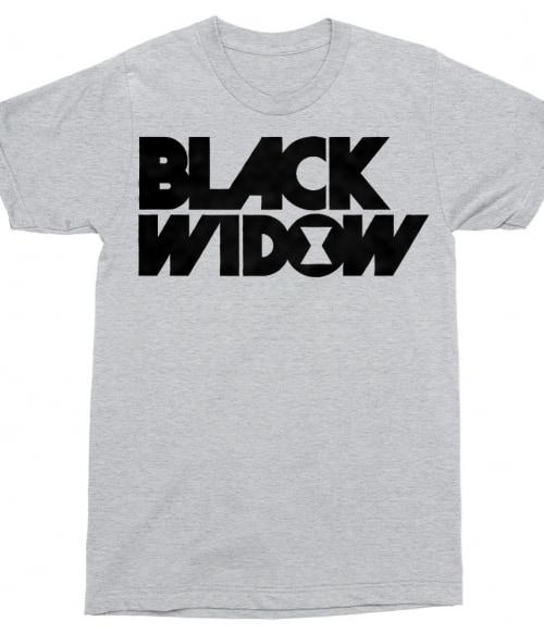 Black Widow text logo Póló - Ha Black Widow rajongó ezeket a pólókat tuti imádni fogod!