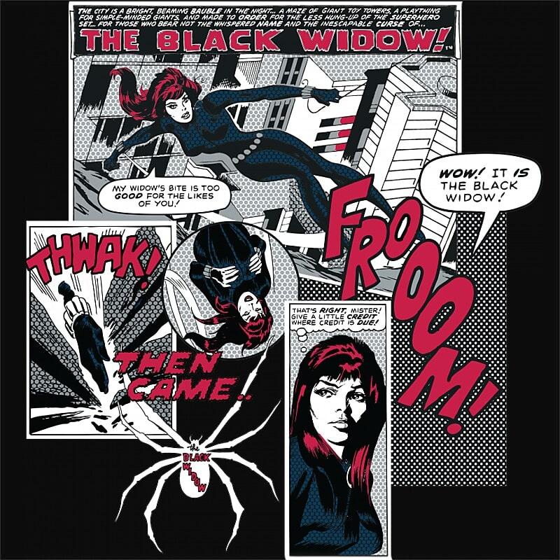 The Black Widow Póló - Ha Black Widow rajongó ezeket a pólókat tuti imádni fogod!