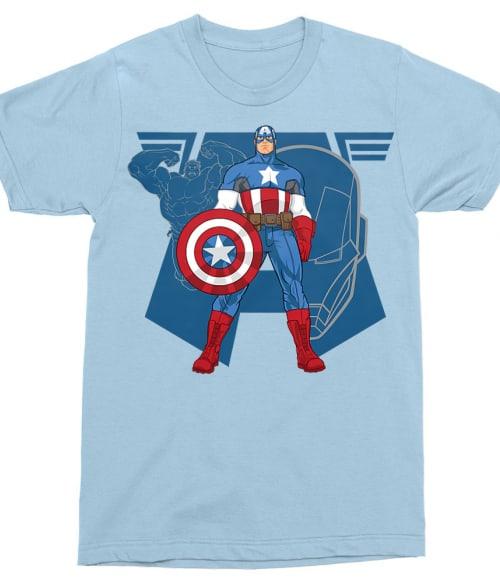 Captain America comics Póló - Ha Captain America rajongó ezeket a pólókat tuti imádni fogod!