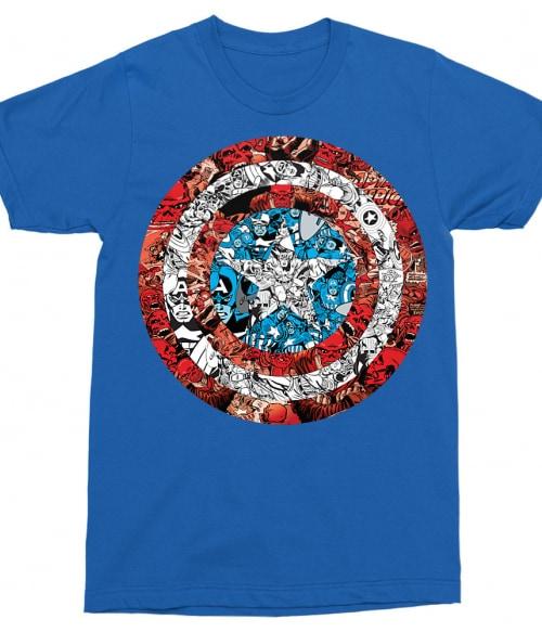 Heroes shield Póló - Ha Captain America rajongó ezeket a pólókat tuti imádni fogod!