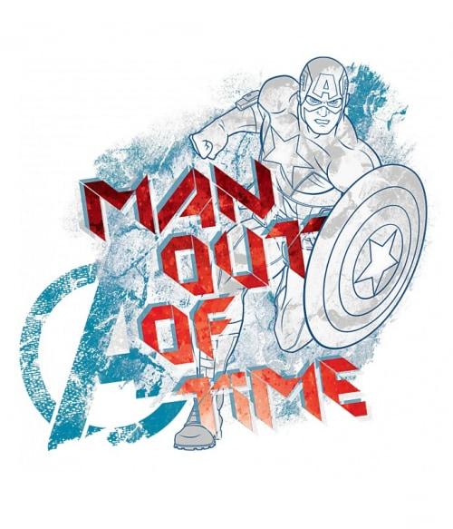 Man out of time Póló - Ha Captain America rajongó ezeket a pólókat tuti imádni fogod!