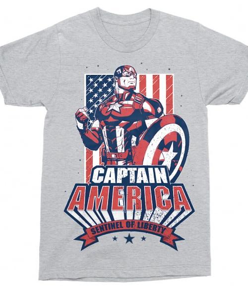 Sentiel of liberty Póló - Ha Captain America rajongó ezeket a pólókat tuti imádni fogod!
