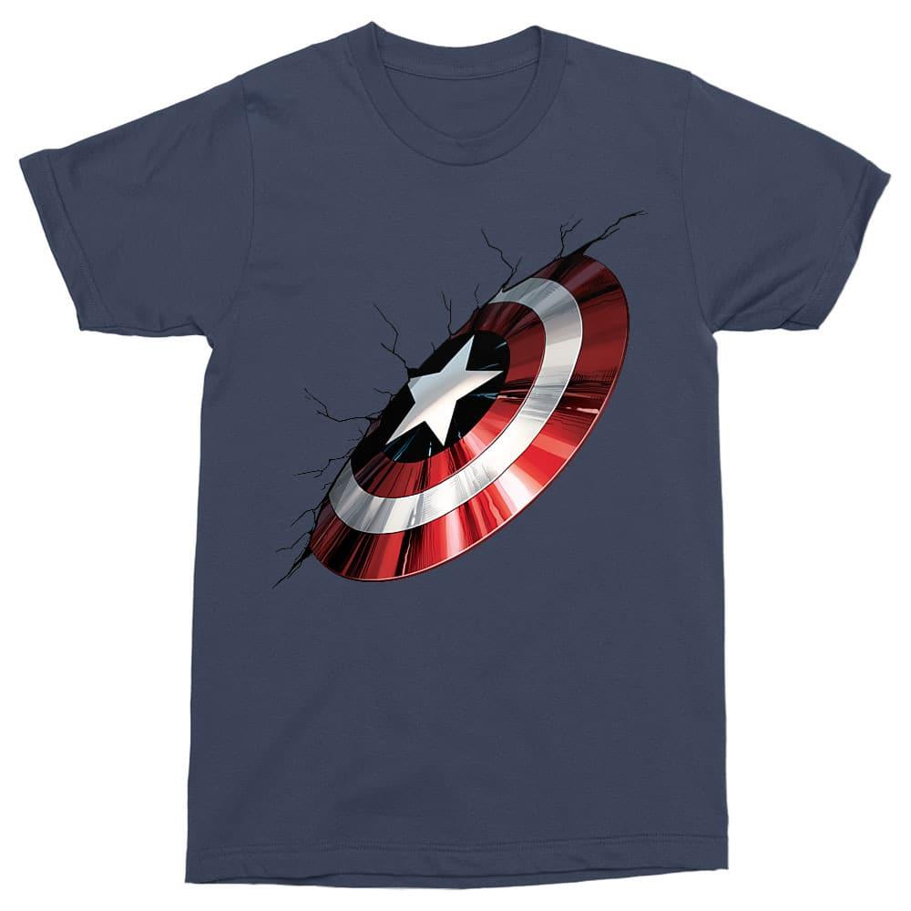 Shield demage Póló - Ha Captain America rajongó ezeket a pólókat tuti imádni fogod!