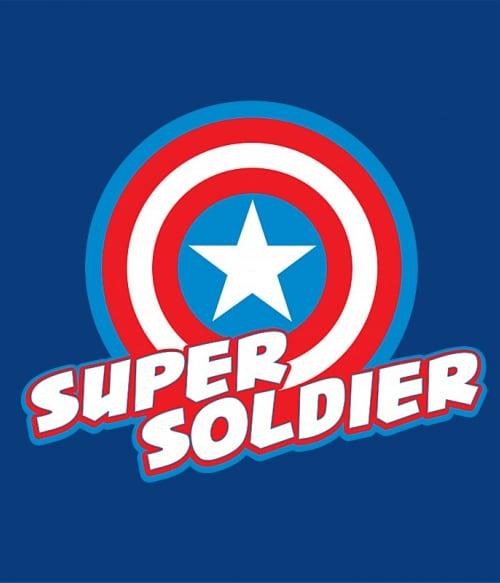Super solider Póló - Ha Captain America rajongó ezeket a pólókat tuti imádni fogod!