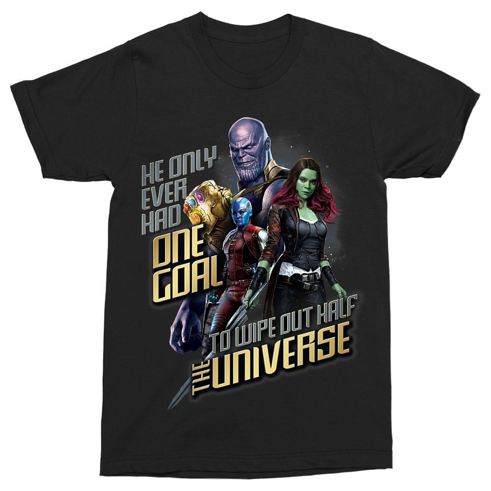 He Only Ever Had One Goal... Póló - Ha Avengers rajongó ezeket a pólókat tuti imádni fogod!
