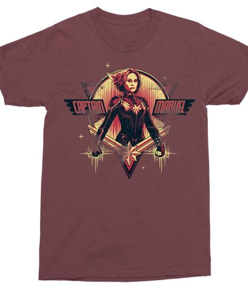 Captain Marvel character Póló - Ha Captain Marvel rajongó ezeket a pólókat tuti imádni fogod!