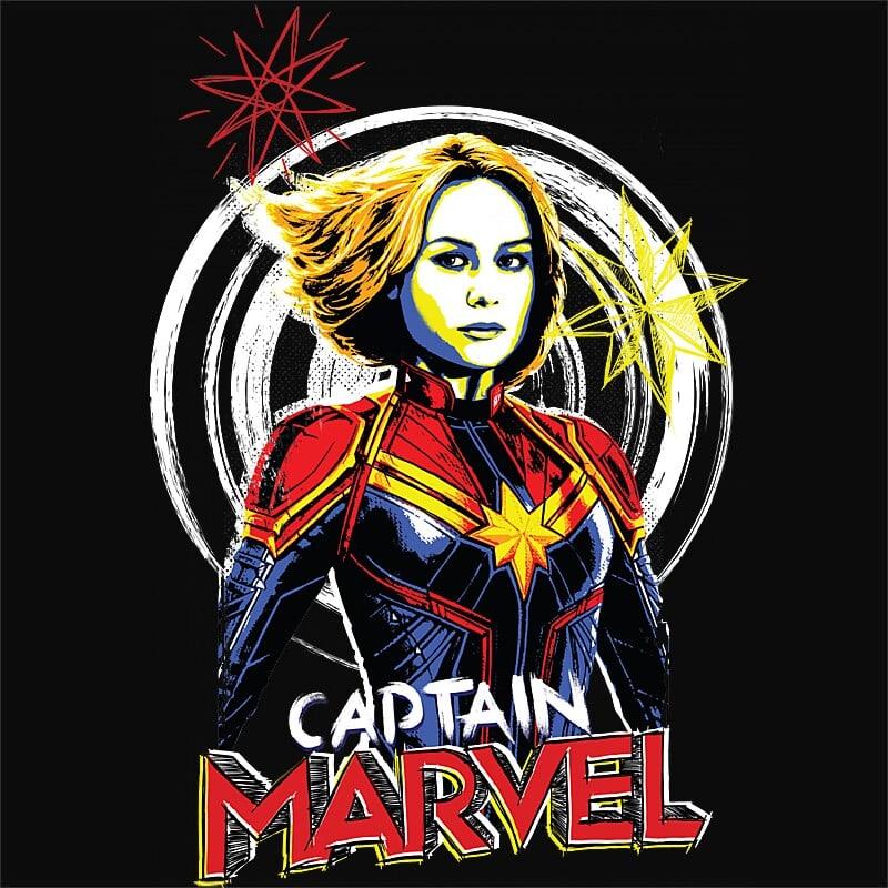 Captain Marvel doodle Póló - Ha Captain Marvel rajongó ezeket a pólókat tuti imádni fogod!
