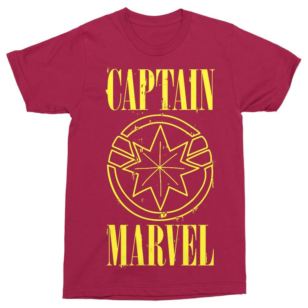 Captain Marvel Nirvana Póló - Ha Captain Marvel rajongó ezeket a pólókat tuti imádni fogod!