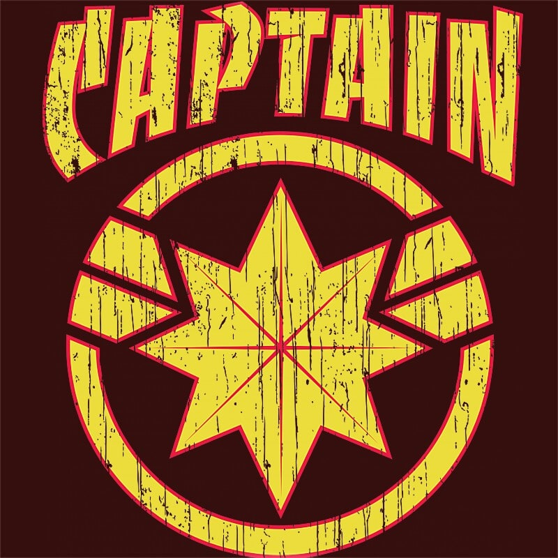 Captain Marvel old logo Póló - Ha Captain Marvel rajongó ezeket a pólókat tuti imádni fogod!