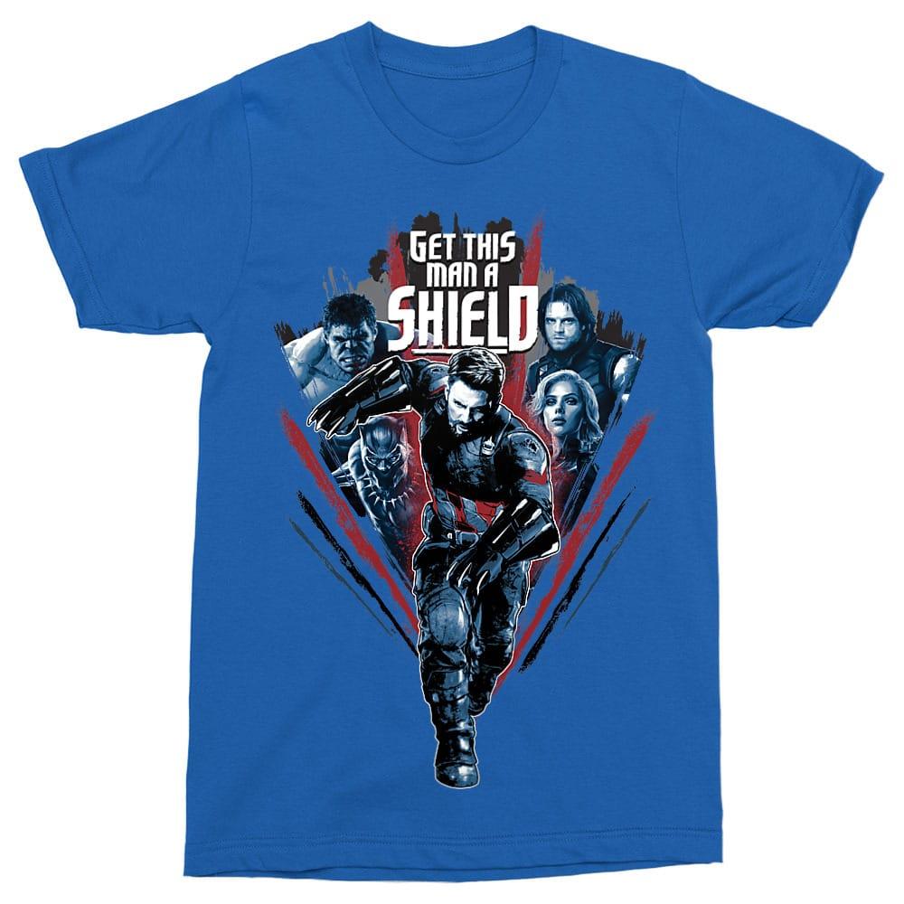 Get This Man a Shield Póló - Ha Avengers rajongó ezeket a pólókat tuti imádni fogod!