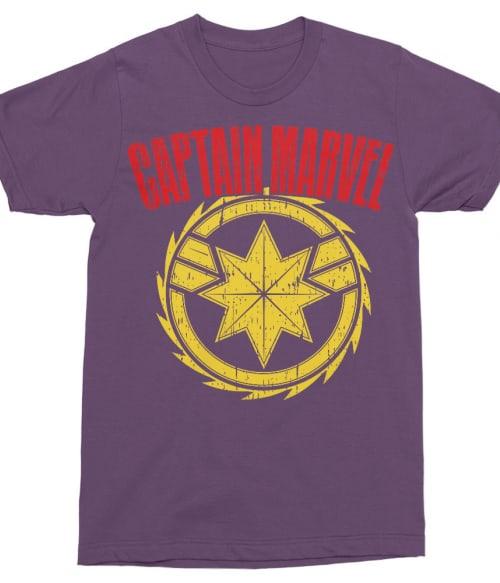 Captain Marvel star Póló - Ha Captain Marvel rajongó ezeket a pólókat tuti imádni fogod!