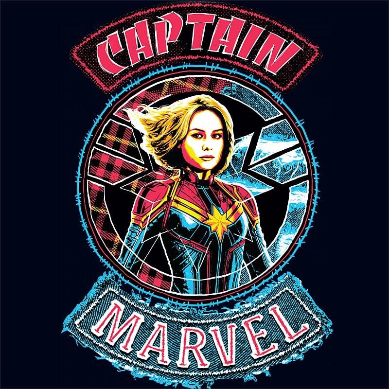 Captain Marvel two side Póló - Ha Captain Marvel rajongó ezeket a pólókat tuti imádni fogod!