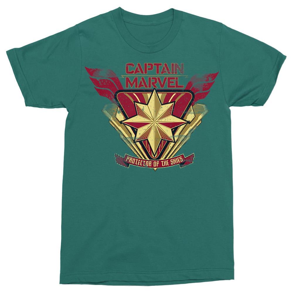 Protector of the skies Póló - Ha Captain Marvel rajongó ezeket a pólókat tuti imádni fogod!